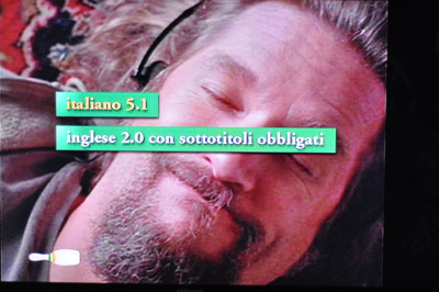The Big Lebowski: il menù audio