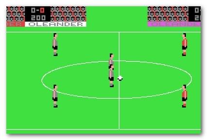 Soccer commodore 64