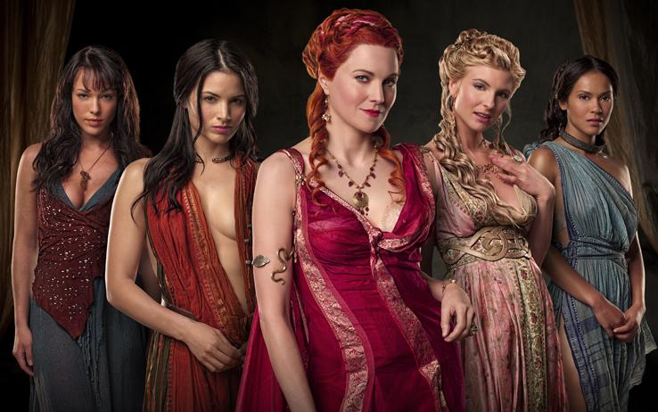 Spartacus recensione e opinoni sulle prime due - Ragazze nude a letto ...