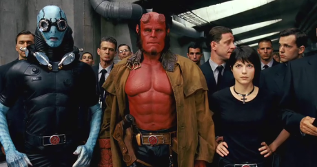 Abe Sapien, Hellboy, Liz Sherman