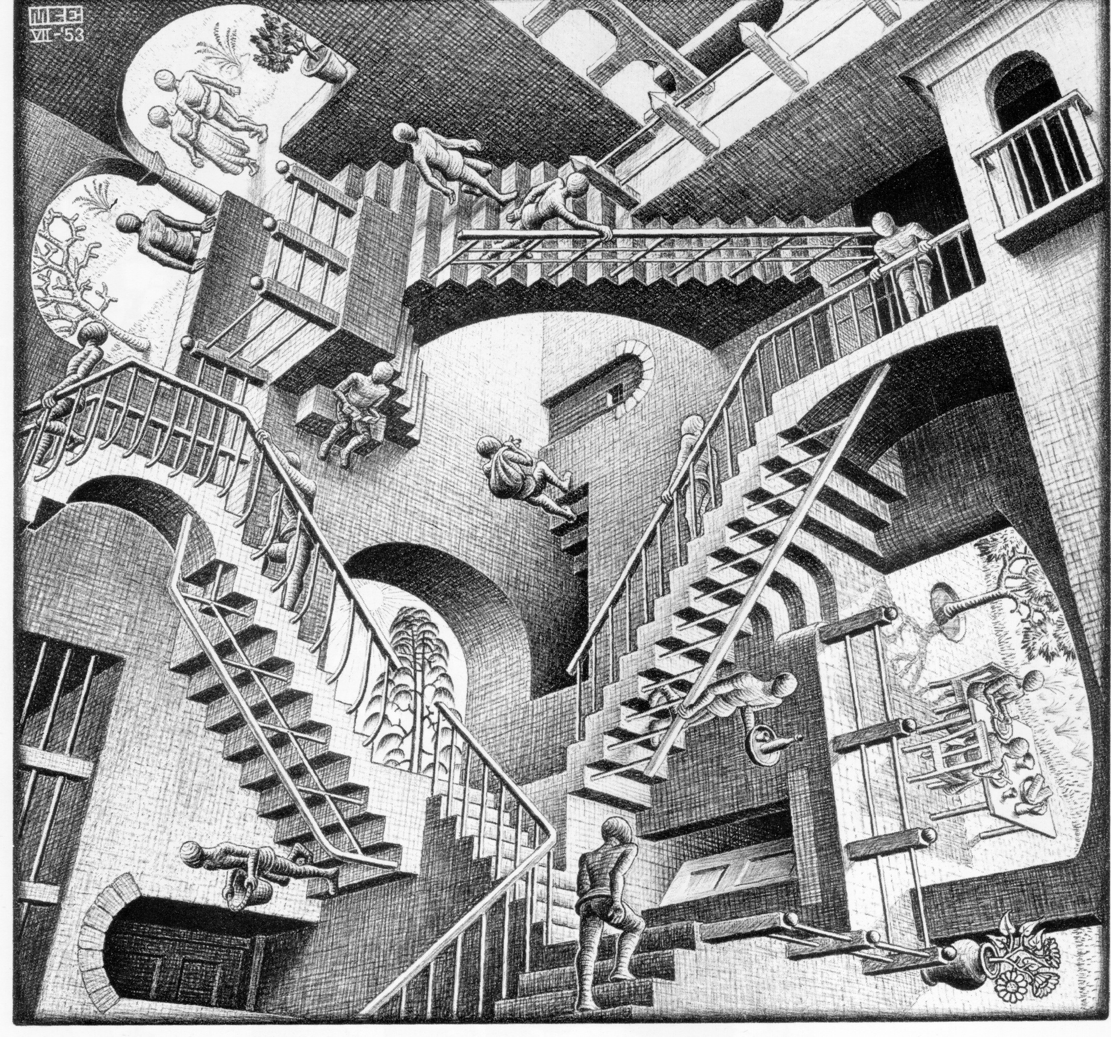 Escher - Labyrinth