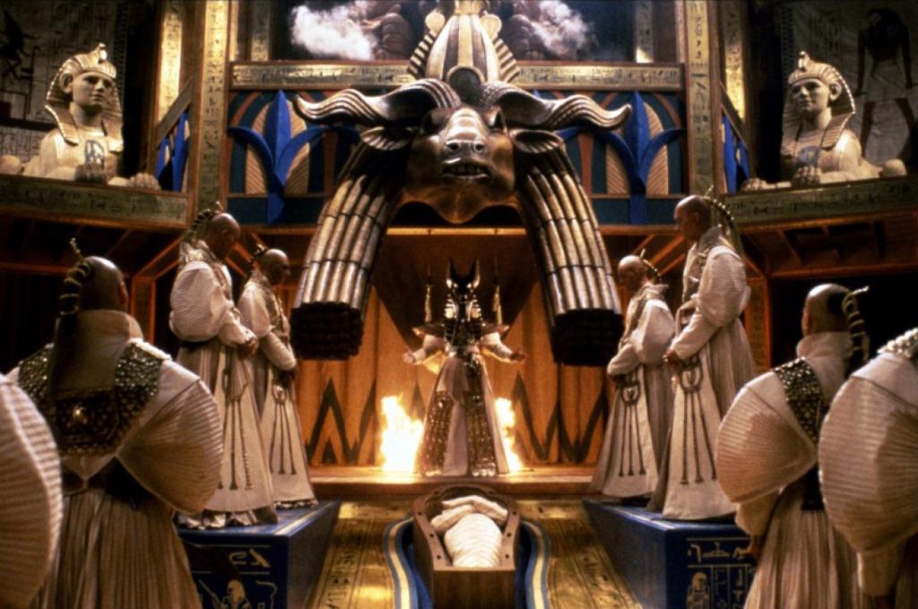 Piramide Di Paura - Mummificazione