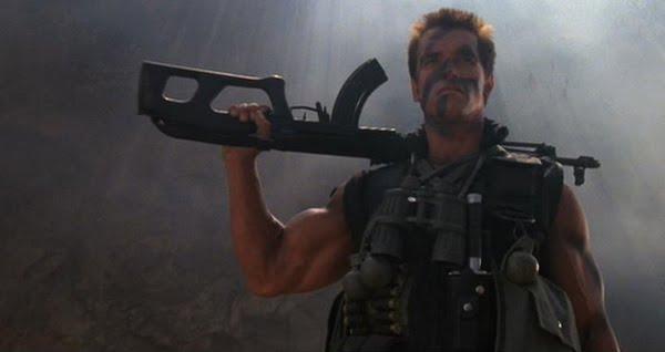 Commando - Arnold Schwarzenegger