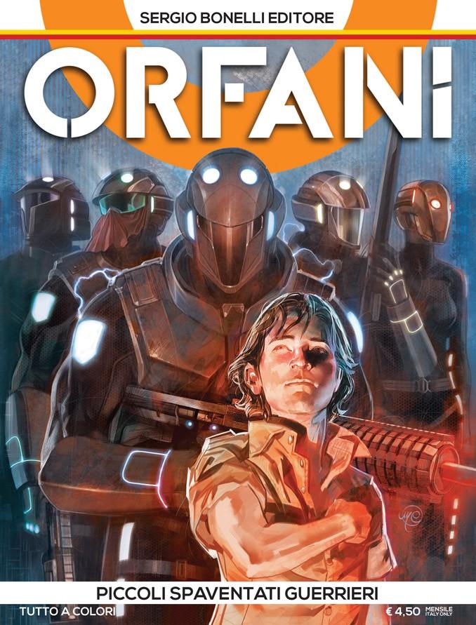 Orfani 1 - Copertina