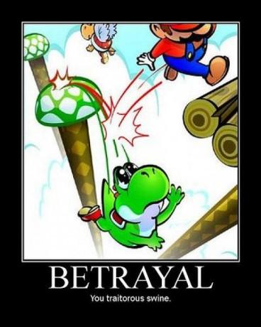 yoshi betrayted