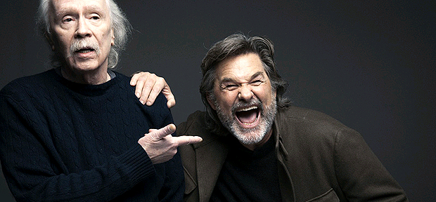 John Carpenter e Kurt Russell