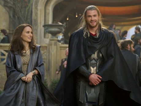 Thor - The Dark World - Natalie Portman e Crhis Heimsworth