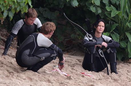Hunger Games - La Ragazza Di Fuoco - La spiaggia