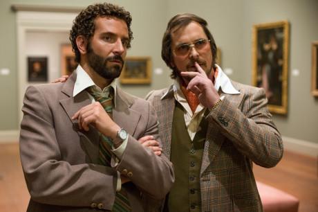 American Hustle - Christian Bale e Bradley Cooper