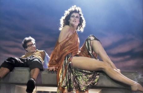 Ghostbusters - Sigourney Weaver e Rick Moranis