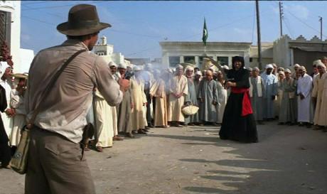 I Predatori Dell'Arca Perduta - Spadaccino arabo