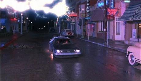 Ritorno Al Futuro - La DeLorean fulminata