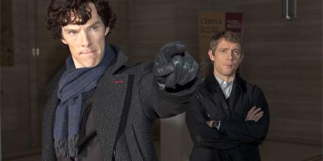 Sherlock - Benedict Cumberbatch e Martin Freeman
