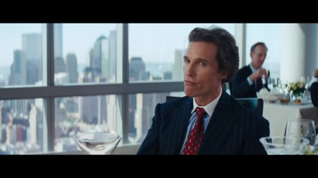 The Wolf Of Wall Street - Matthew McConaughey