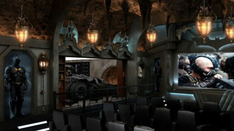 Sala cinema di Bruce Wayne