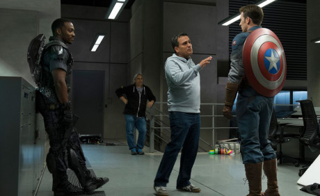 Captain America - The Winter Soldier - Anthony e Joe