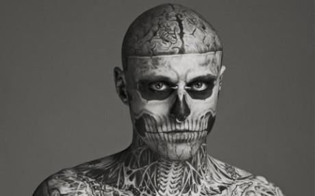 Zombie Boy aka Rick Genest