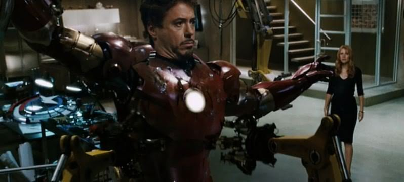 Iron Man 1 - Captain America Scudo