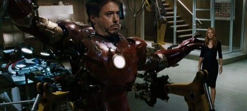 Iron Man 1 - Captain America Scudo
