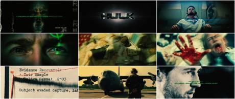 L'Incredibile Hulk - Titoli di testa