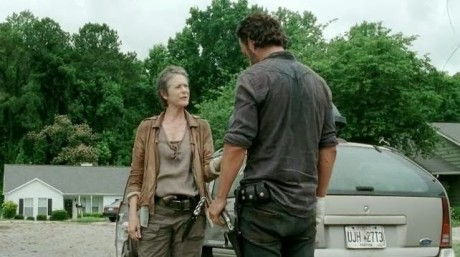 The Walking Dead 4 - Carol e Rick