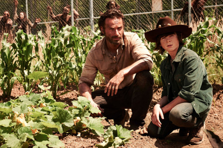 The Walking Dead 4 - Rick, Carl e le carote