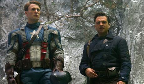 Captain America - Il Primo Vendicatore - Cap e Bucky
