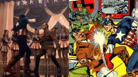 Captain America - Il Primo Vendicatore - Cap picchia Hitler