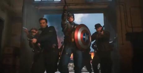 Captain America - Il Primo Vendicatore - In azione