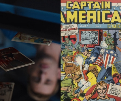 The Avengers - Carte di Capitan America