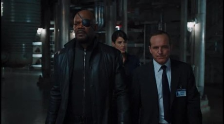 The Avengers - Fury, Hill e Coulson