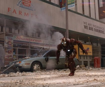 The Avengers - Shawarma
