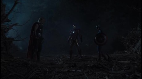 The Avengers - Thor Vs Cap Vs Iron Man