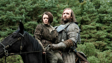 Game Of Thrones - Arya Stark e il Mastino