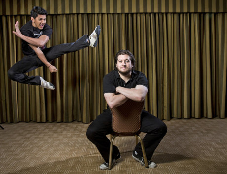 Gareth Evans e Iko Uwais
