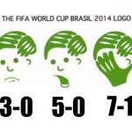 Mondiali 2014: Germania – Brasile 7 a 1