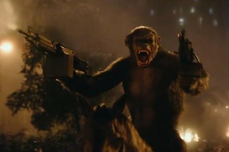Apes Revolution - Il Pianeta Delle Scimmie - Scimmia con i mitra