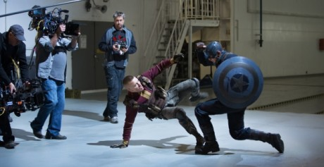 Captain America - The Winter Soldier - Batroc Vs Cap