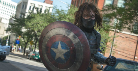 Captain America - The winter Soldier - Soldato d'Inverno con lo Scudo