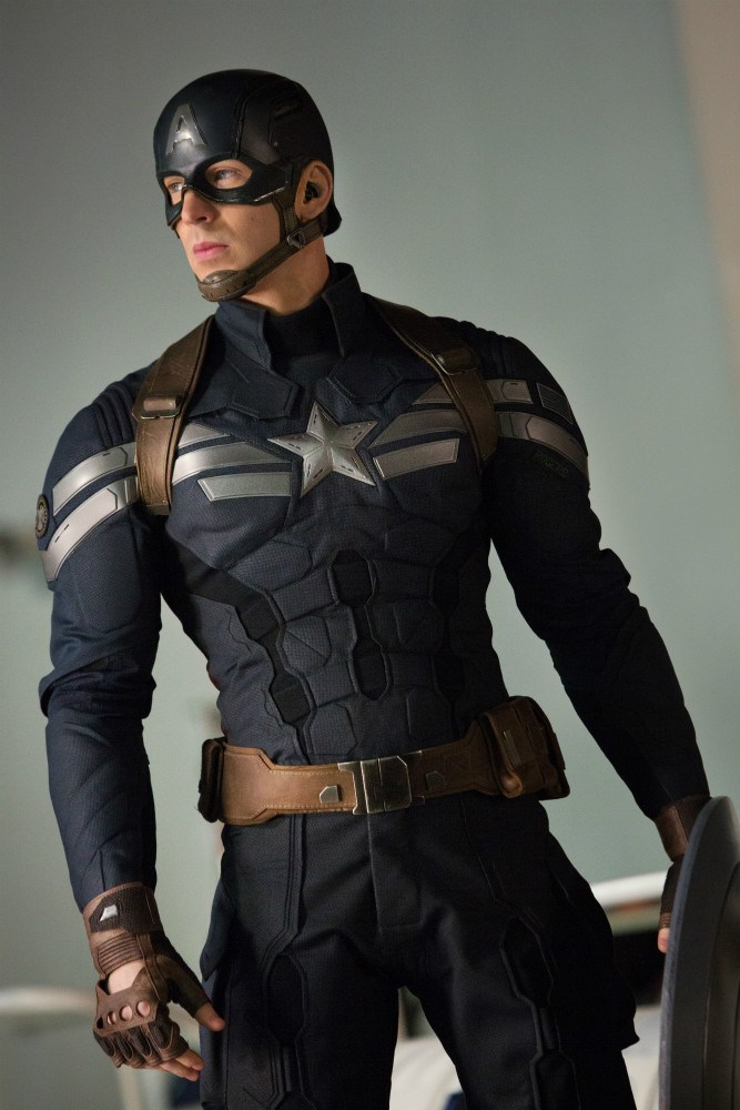 Captain America - The winter Soldier - Uniforme Captain America