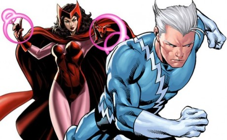 Quicksilver e Scarlet Witch