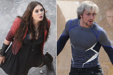 Quicksilver e Scarlet Witch - Avengers - Age Of Ultron