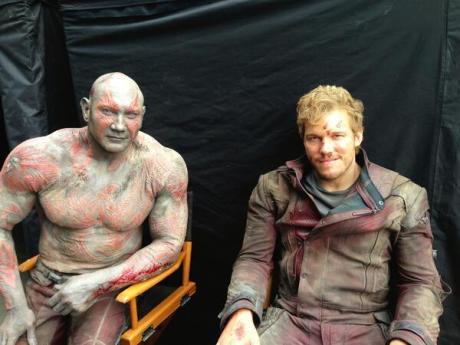 Guardiani Della Galassia - Drax e Starlord