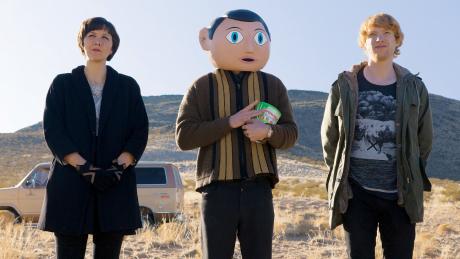 Frank - Maggie Ghyllenhaal, Michael Fassbender e Domhnall Gleeson