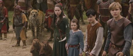 Le Cronache Di Narnia - Il Leone, La Strega E L'Armadio - I Pevensie