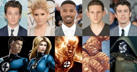 Fantastic 4 I Fantastici Quattro Cast