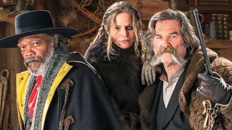 The Hateful Eight - Samuel L. Jackson - Jennifer Jason Leigh - Kurt Russel