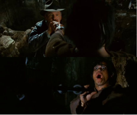 """Ffffffffffff"".... ""AAAARGH!!!!""... e morì senza un fiato... come uno stronzo!"
