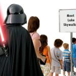 Quel simpatico cazzone di Darth Vader