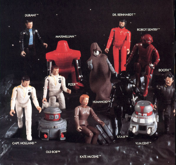 The Black Hole - Action Figures